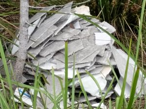 Asbestos dumped in popular camping and fishing reserve