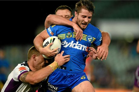 Kieran Foran of the Eels.