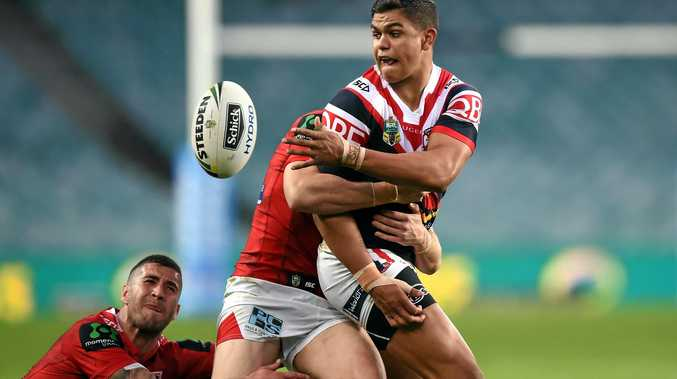 Latrell Mitchell of the Roosters.