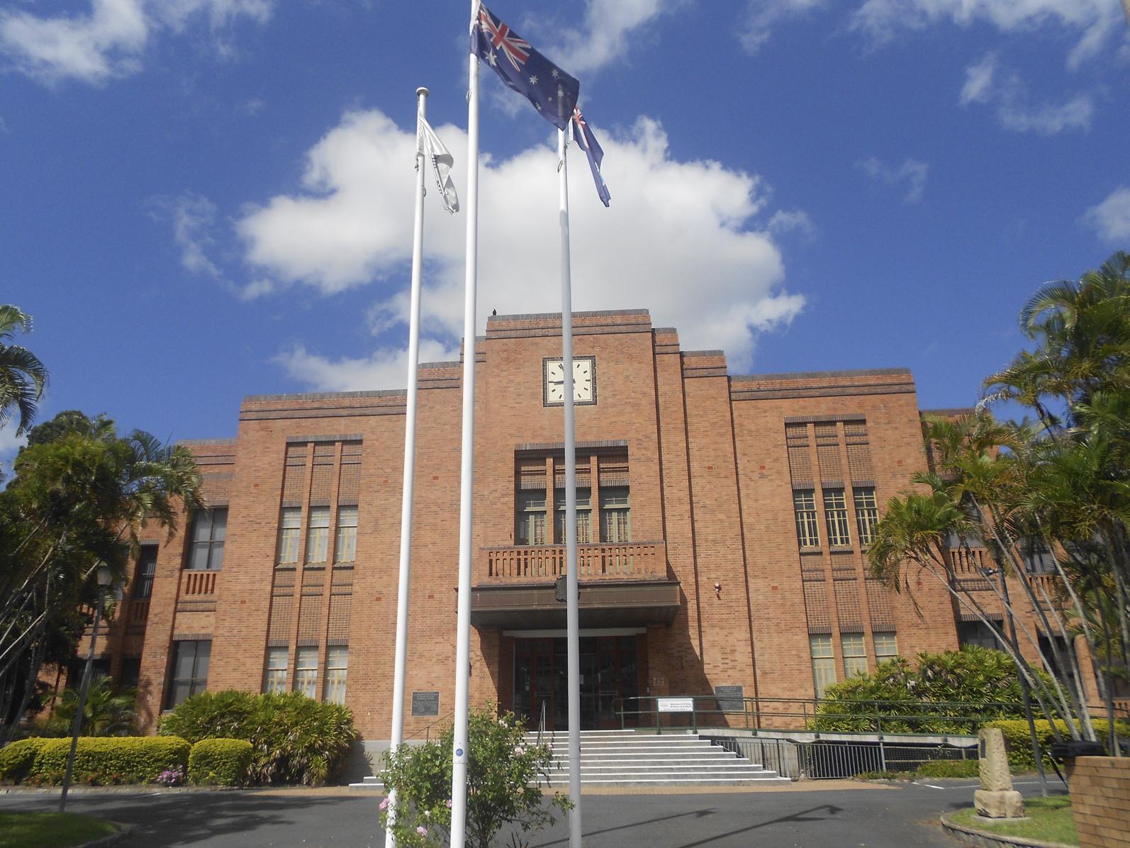 Rockhampton Regional Council's city hall.