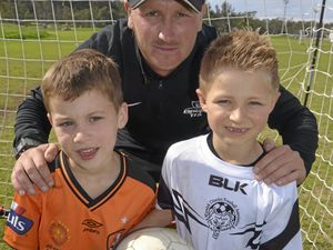 Total Football conducts camp at Queens Park in Warwick