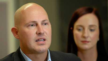 DEBT SHAKEUP: Queensland Treasurer Curtis Pitt (left).