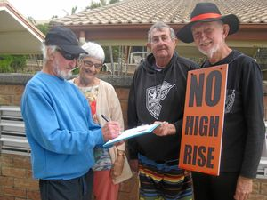 Kingscliff height petition gathers pace