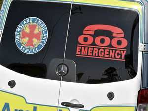 Truck and car collision on Bruce Hwy leaves man injured