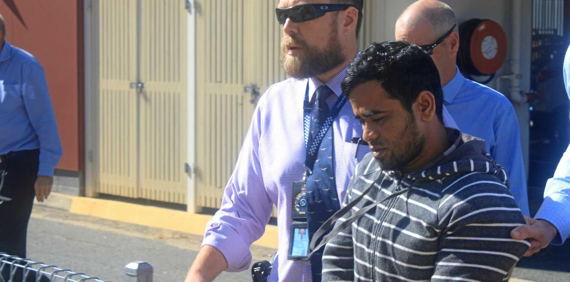 Mohammed Khan allegedly murdered Syeid Alam
