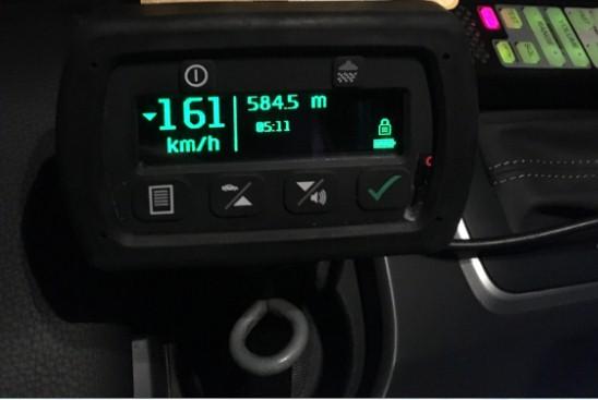 HOON STUNG: A hoon has been caught driving at 161km/h.