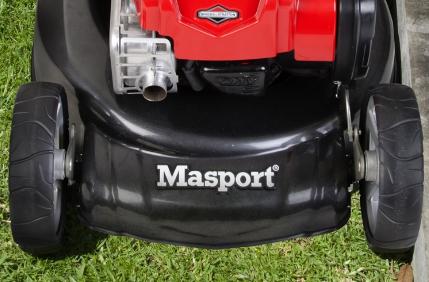 A photo of a Masport Mower. Photo Bunnings