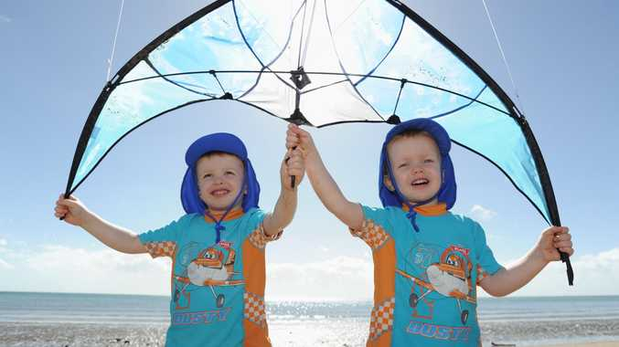 Get the sunscreen and togs out Fraser Coast, we can expect a warm one in coming days with above average temperatures set for the region.