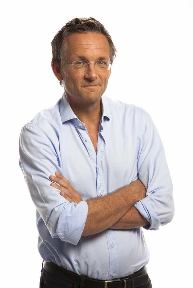 Journalist and TV presenter Michael Mosley.
