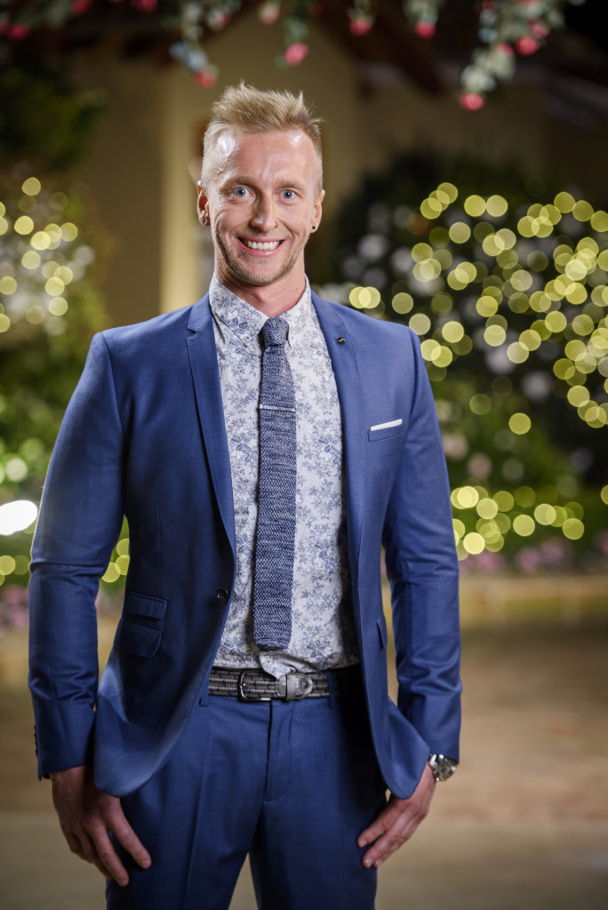 The Bachelorette contestant Ben Lyall.