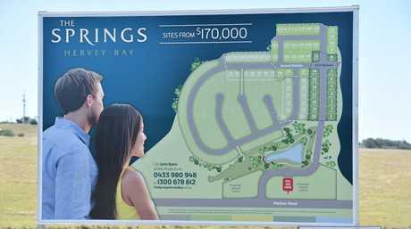New development on Madsen Rd - The Springs.