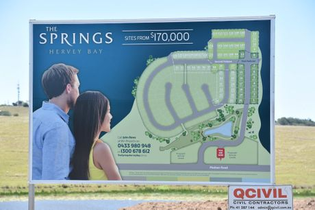 New development on Madsen Rd - The Springs.