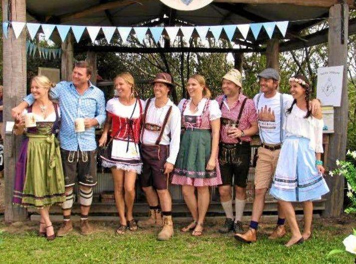 KI N  KIN:   Celebrate Oktoberfest in September.