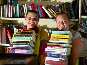 Books aplenty at Lifeline's sale