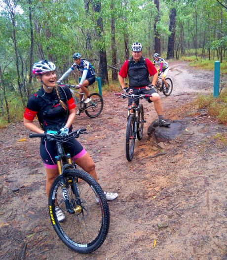 Mountain biking on the Sunshine Coast with Bush Rangers Mountain Bike Club.