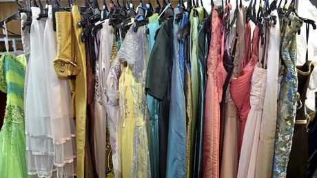 Selection of dresses.