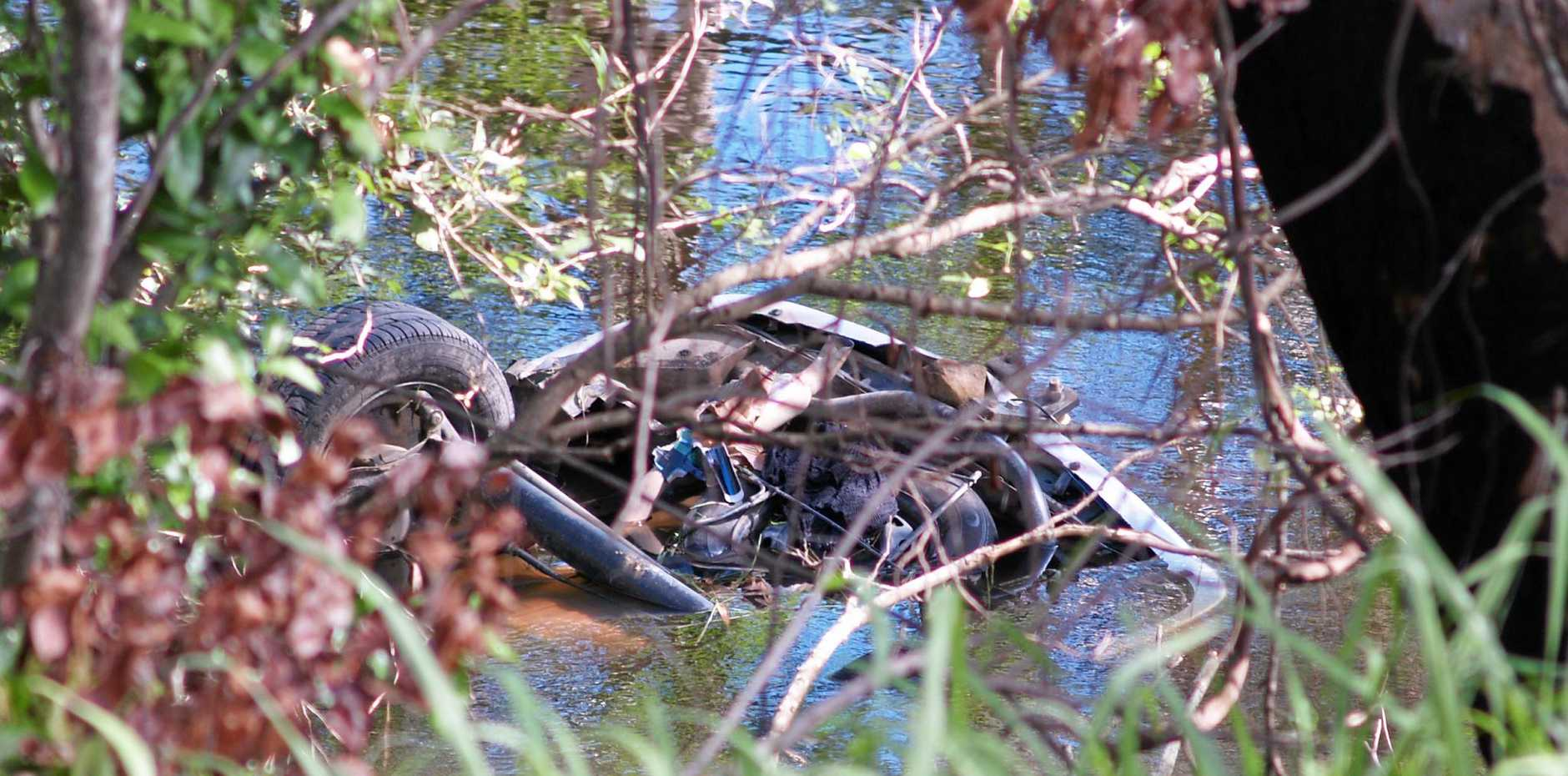 The crash occurred at Greta Creek, north of Proserpine.