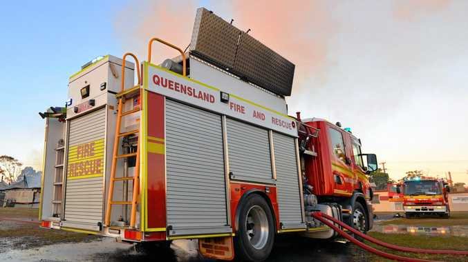 Firefighters were called to two separate, significant blazes across CQ last night and early today. FILE PHOTO