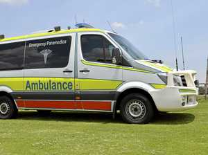 Teenager injured in motorbike crash