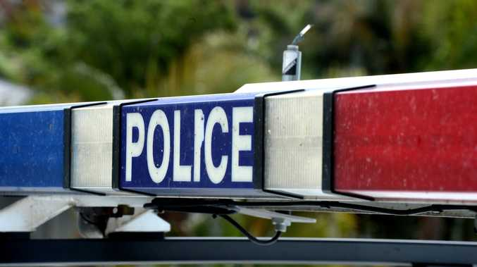 Two men hospitalised after Kalkie crash