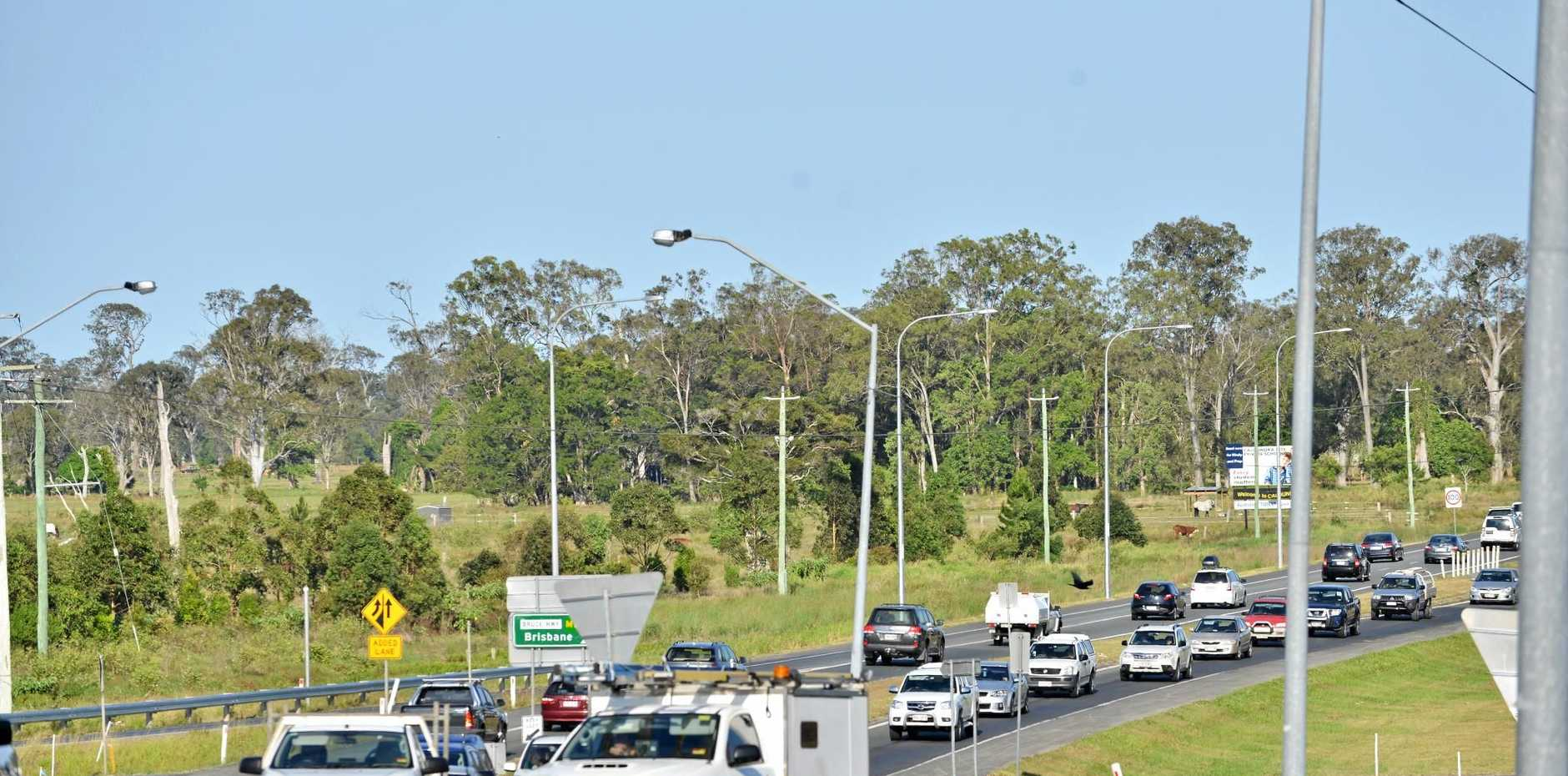 HECTIC: Caloundra Rd traffic congestion.