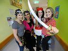Arrr! Bundaberg Hospital staff Talk Like Pirates to help kids