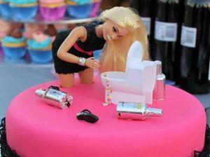 'Bad Barbie' takes the cake