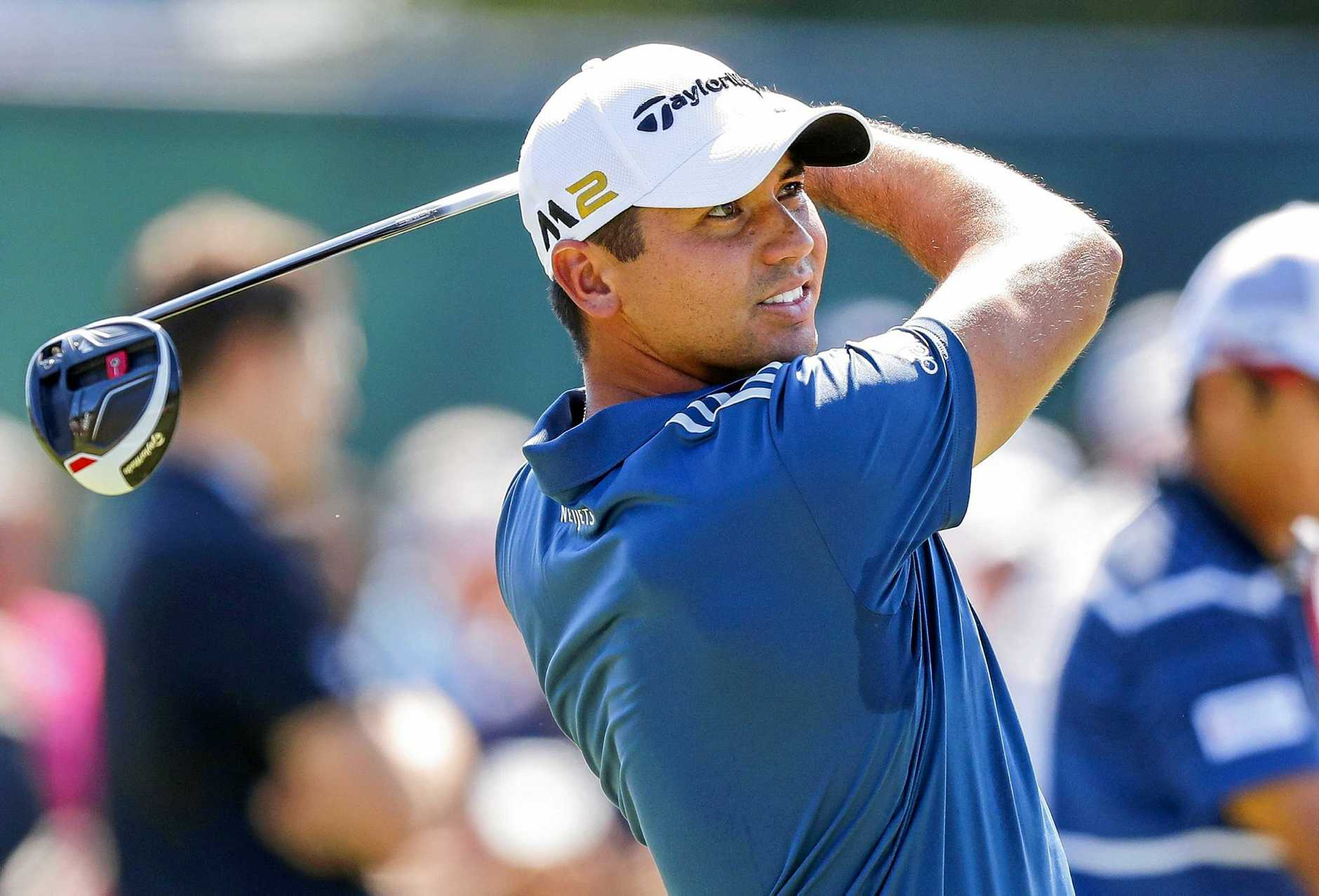 Jason Day during a practice round for the Tour Championship.