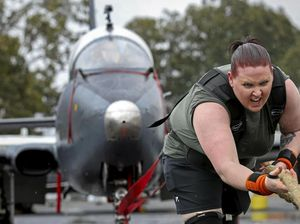 Strongwoman Tiffany pulling her weight for a cause