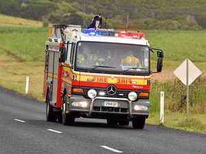 Emergency services called to rural shed fire