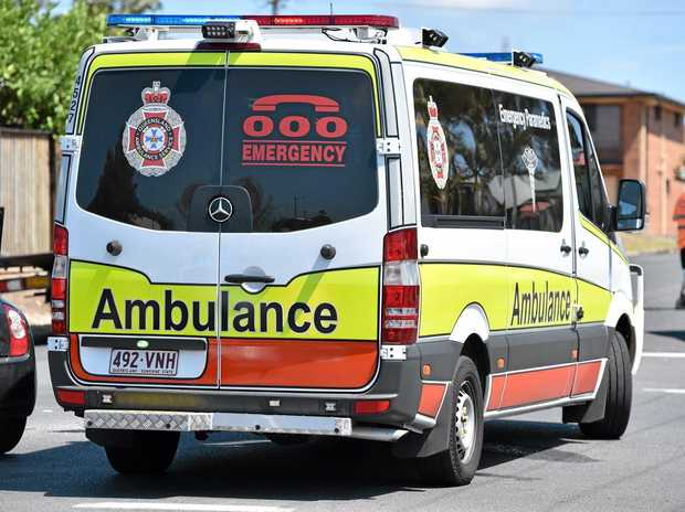 Emergency services have been called to the crash on the Bruce Highway at the Terranova Rd