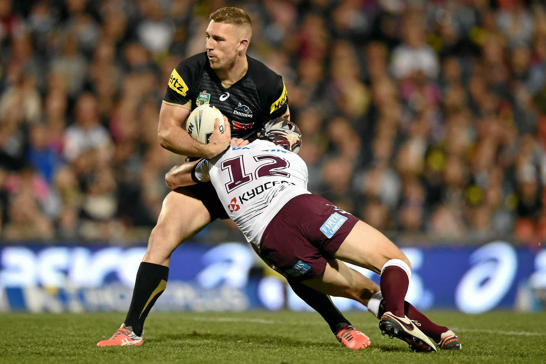 Bryce Cartwright of the Panthers has re-signed with the club.