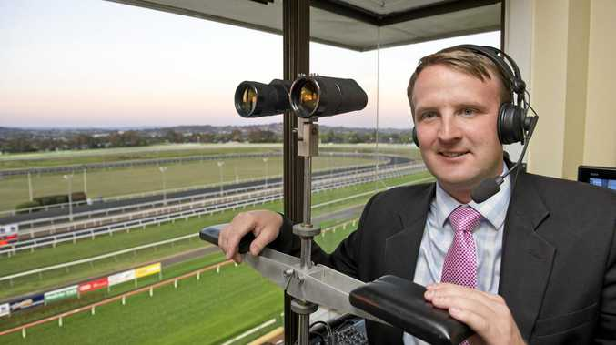 Clifford Park Sky Racing announcer Anthony Collins will share the race calling duties at Saturday's Carnival Race Day with Brett Moody, Ben Hall, Josh Fleming and Paul Dolan.