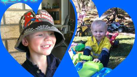 Taylen Williams, 4, was killed in a horror crash near Rockhampton. His brother Zeith, 6, has been released from hospital.