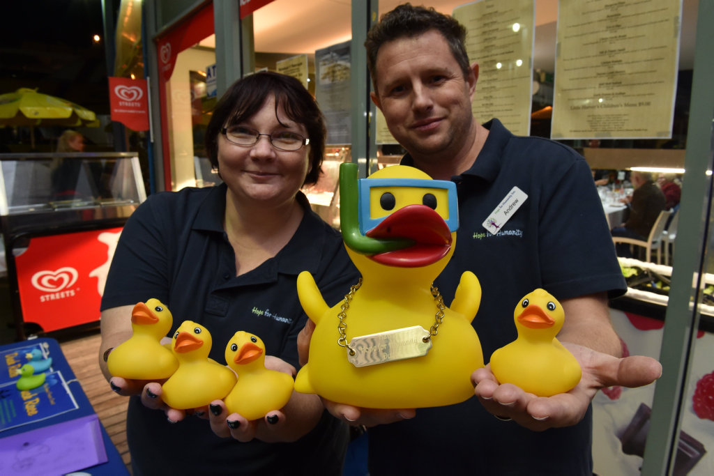 It will be a quacking day as 500 ducks are released into the ocean for the Great Fraser Coast Duck Race.