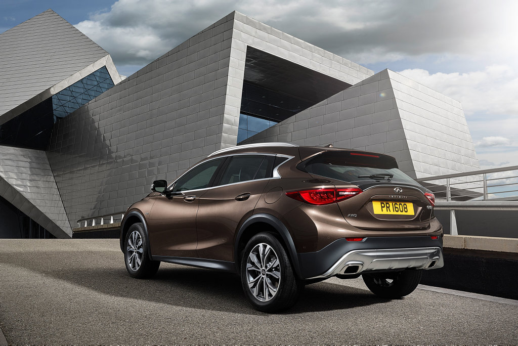 2016 Infiniti QX30. Photo: Contributed