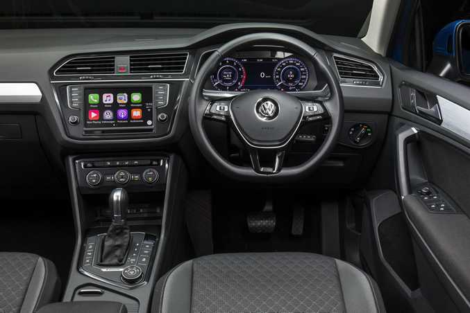 2016 Volkswagen Tiguan Comfortline. Photo: Chris Benny
