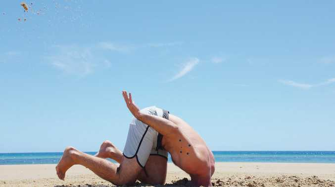HEAD IN THE SAND: A new poll suggests half of Australians support banning Muslim immigration.