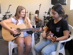 Aspiring musicians workshop songwriting and practical skills