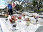 PHOTOS: Marty's graveyard shift in memory of daughters, wife