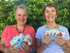 GARDENING GURUS: Lisa Berry and Heather Lambert taking advantage of the free seeds.