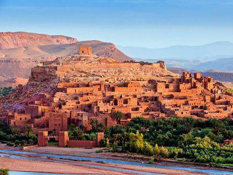 Aït-Benhaddou, Morocco.