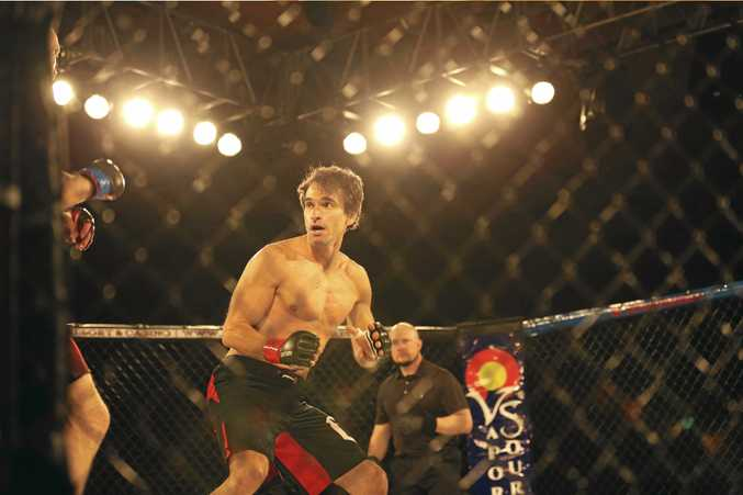 Todd Sampson tries out MMA fighting during TV series BodyHack.