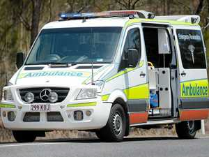 Boy in hospital after motorcycle accident