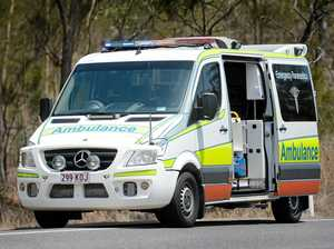 Truck runs off road near Murgon