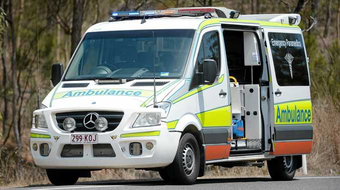 Emergency services rush to two-car crash