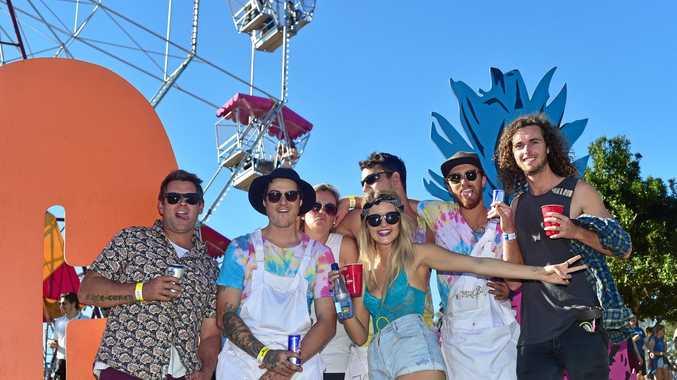 The Big Pineapple Music Festival.