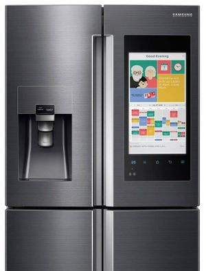 Samsung Family Hub fridge.