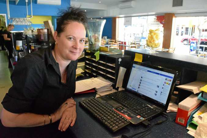 ALARM BELLS: Cool Bananas co-owner Sharlene Gemming managed to avoid the phishing trap. Photo: Eliza Goetze / NewsMail