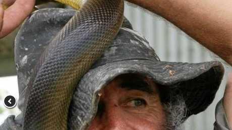 Rob Bredl, the Barefoot Bushman.
